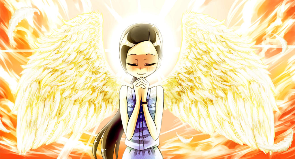 You're my Angel by ThanatosTan
