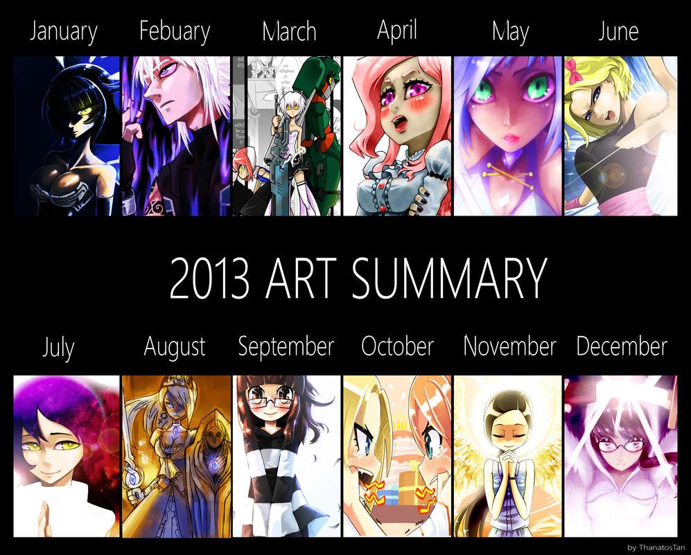 2013 Arts Summary by ThanatosTan
