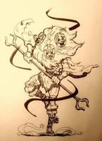 [INKTOBER2017] Day30: Masquerade