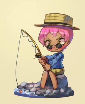 Riverside Fishing
