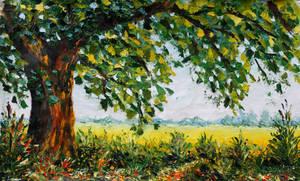 Oil painting Sunny Day 282. Valery Rybakow.