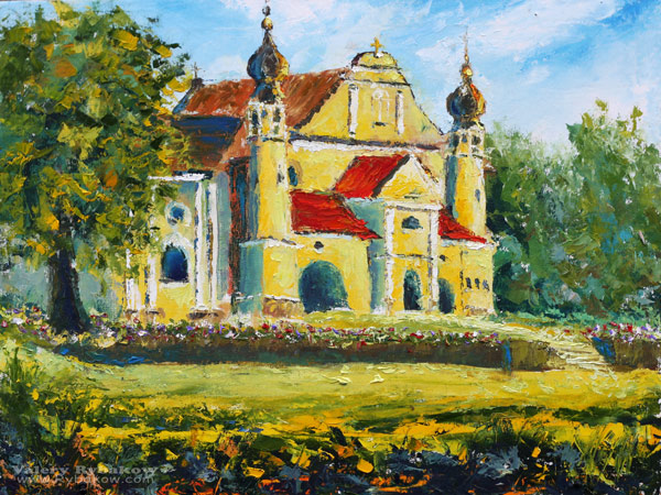 Painting solar temple in poland buy oil painting by for Buy mural paintings