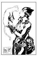 catwoman and kittie by jorgecopo