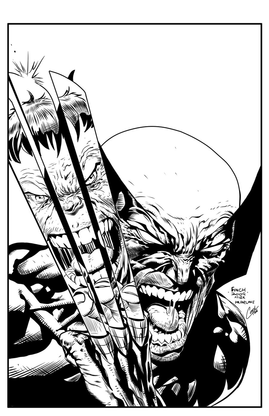 Wolverine vs hulk by jorgecopo on deviantart for Coloring pages wolverine