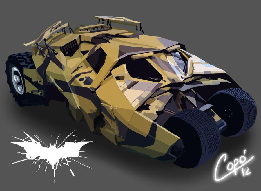 batmobil by jorgecopo
