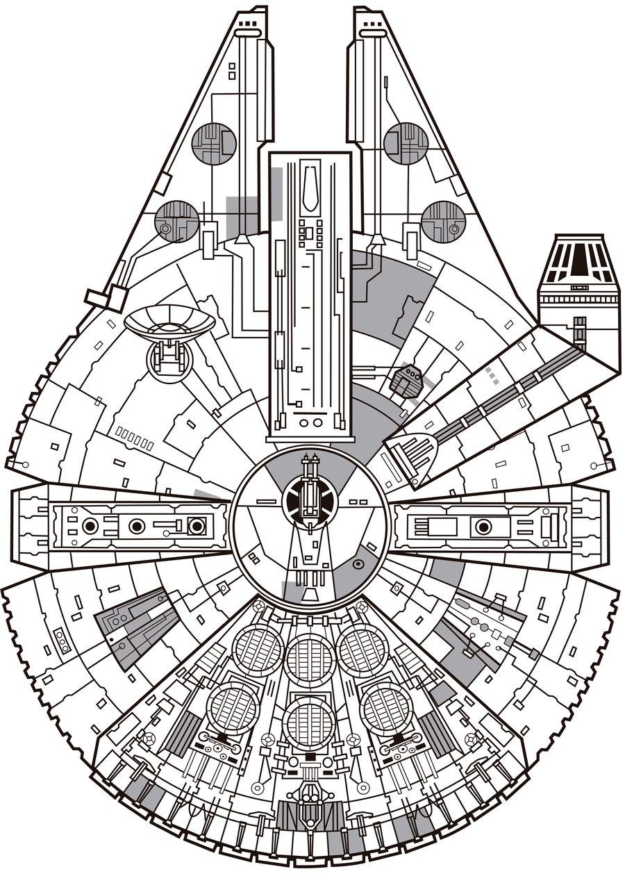 Millennium Falcon by jorgecopo