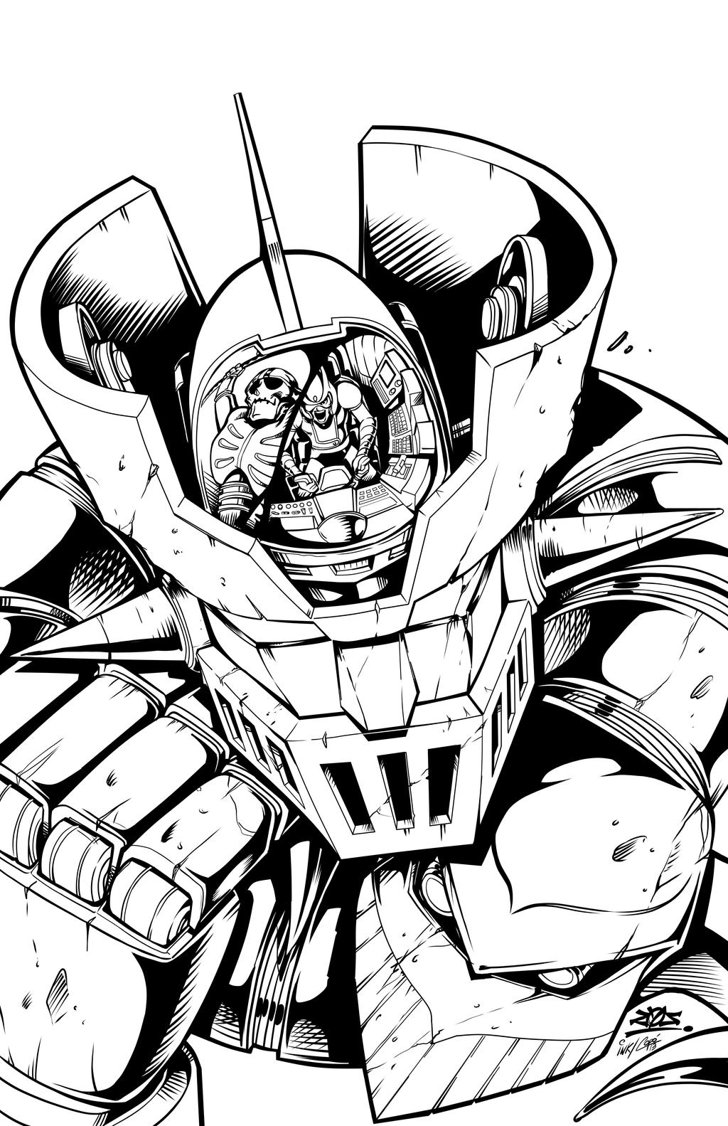 mazinger z coloring pages - photo#16