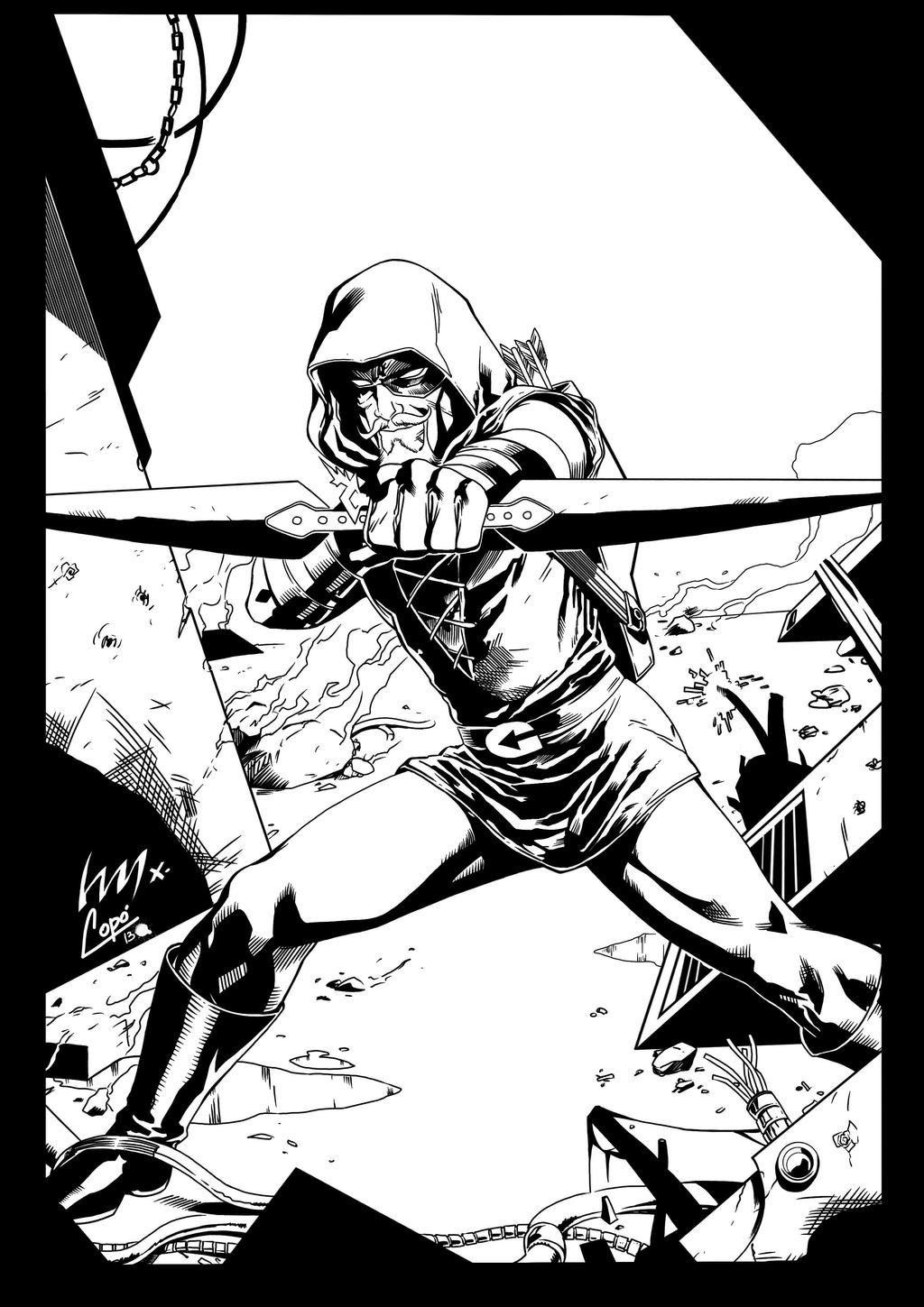 Green arrow by jorgecopo