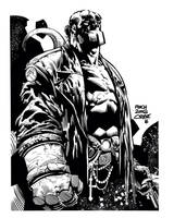 Hellboy by jorgecopo