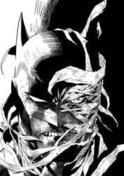 Test digital ink Batman/hush
