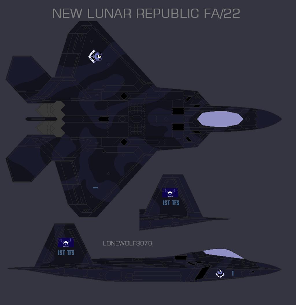 New Lunar Republic FA 22 by lonewolf3878