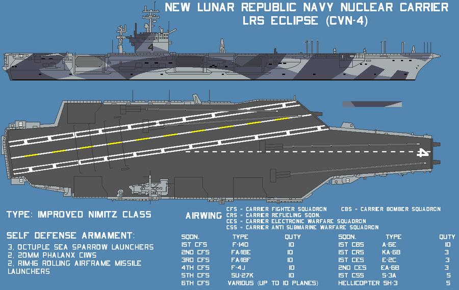 New Lunar Republic aircraft carrier  LRS Eclipse by lonewolf3878