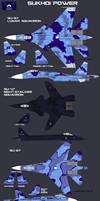 New Lunar Republic Sukhoi planes by lonewolf3878