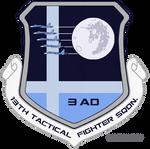 NLRAF Lunar Squadron Wing Patch