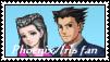 Phoenix and Iris Stamp by lonewolf3878