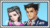 Phoenix and Iris Stamp by lonewolf3878