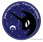 NLRAF Nightmare Squadron Wing Patch