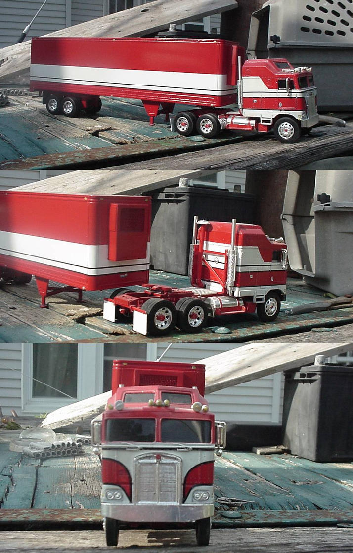 Bj and the bear truck model by lonewolf3878 on deviantart