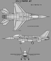 GTA 5 Fighter Jet by lonewolf3878