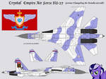 Nightshade's Former Changeling Kingdom SU-27