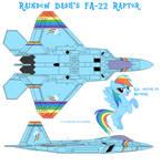 Rainbow Dash's FA-22