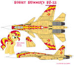 Sunset Shimmer's SU-33