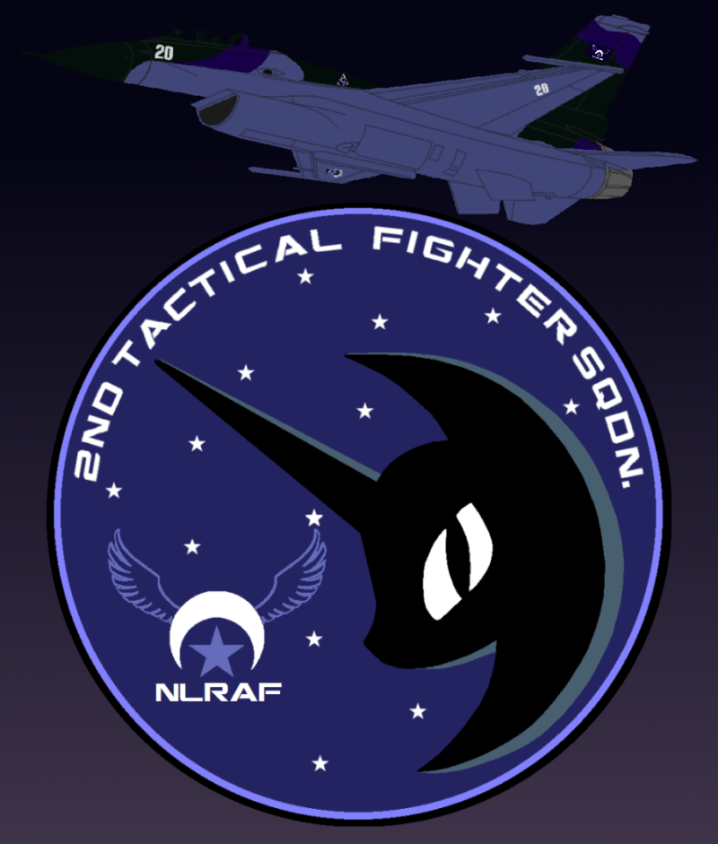 NLRAF Nightmare Squadron Poster by lonewolf3878