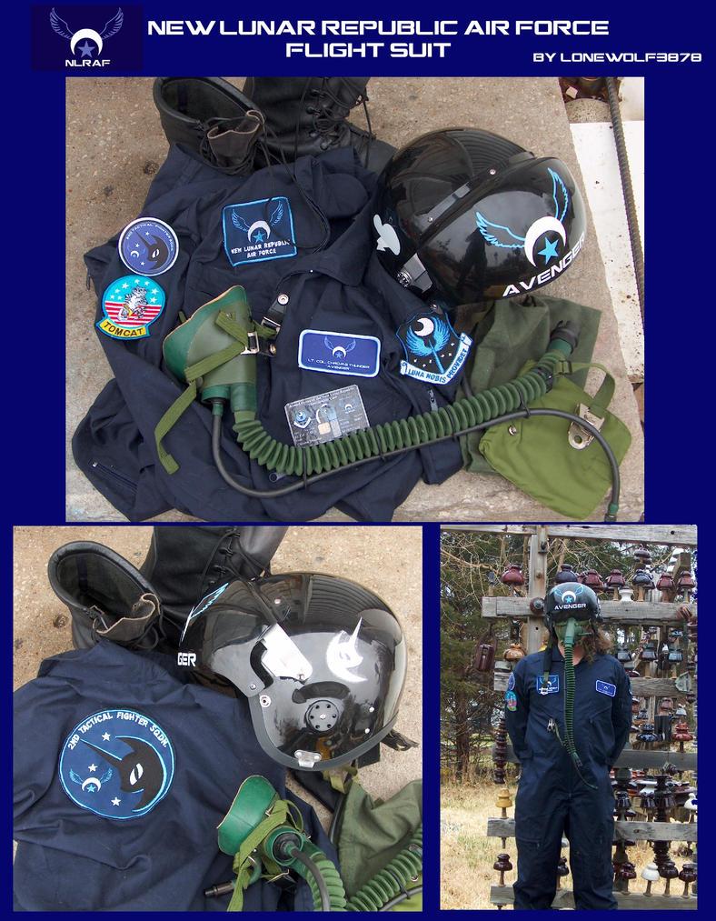 New Lunar Republic Air Force Flight Suit by lonewolf3878