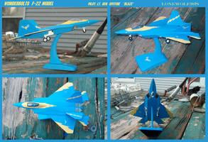 Wonderbolts F22 model (sold) by lonewolf3878
