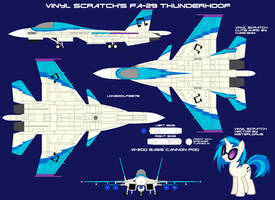 Vinyl Scratch's FA-29 Thunderhoof by lonewolf3878