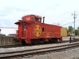 October 4th Railfan Trip 8: Another Caboose by lonewolf3878