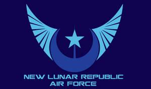 New Lunar Republic Air Force Flag - Ver. 3