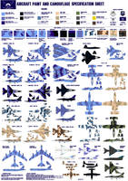 NLR Air Force Aircraft Painting Guide by lonewolf3878
