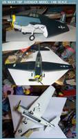 U.S. Navy TBF Avenger Model: 1:48 Scale by lonewolf3878