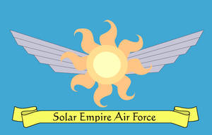 Solar Empire Air Force Flag by lonewolf3878