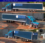 Luna Trucking Semi: HO scale