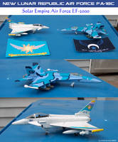 NLRAF Hornet and SEAF Typhoon Diecast Planes by lonewolf3878