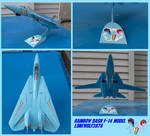 Rainbow Dash F-14 model: 1:72 scale