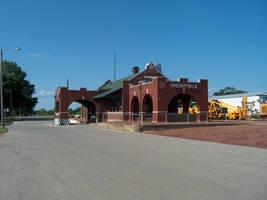 Railfan Trip: 6-25-16: Cherryvale Depot by lonewolf3878