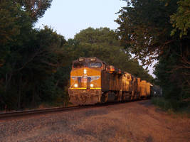 Railfan Trip: 6-25-16: Into the Setting Sun by lonewolf3878