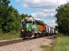 Railfan Trip 8-20-16: Spring Hill Local by lonewolf3878
