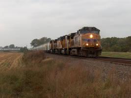 Railfan Trip: 10-15-16: Sand Hauler by lonewolf3878