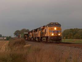 Railfan Trip: 10-15-16: Dark Skies by lonewolf3878