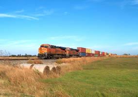 Railfan Trip: 10-16-16: Blue Skies by lonewolf3878