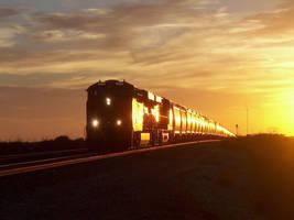 Railfan Trip: 10-16-16: Train of Gold by lonewolf3878