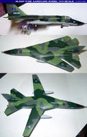 NLR Air Force F-111E Model: 1:144 Scale by lonewolf3878