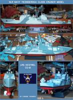 NLR Navy Ticonderoga Class Cruiser Model by lonewolf3878
