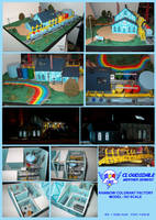 Rainbow Colorant Factory Model: HO Scale by lonewolf3878