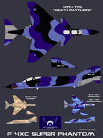 New Lunar Republic Air Force F-4XC Super Phantom by lonewolf3878