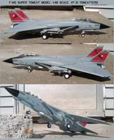 F-14D Super Tomcat Model: 1:48 Scale. VF-31 by lonewolf3878